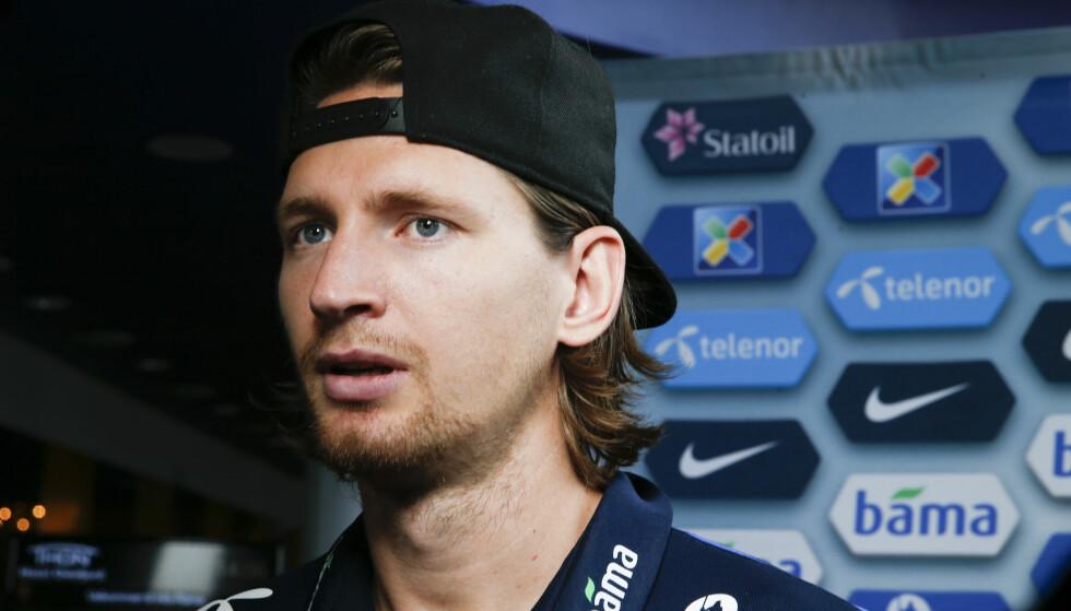 IRRITERT: Stefan Strandberg mener det er en negativ spiral rundt det norske landslaget. Foto: NTB Scanpix