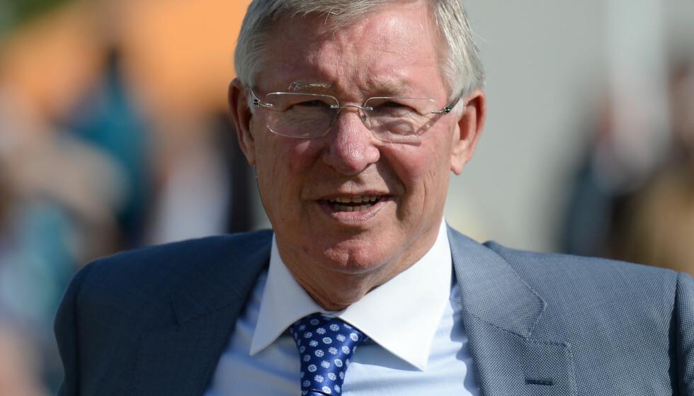 SUKSESSMANN: Sir Alex Ferguson ledet Manchester United med stor suksess. Foto: NTB Scanpix