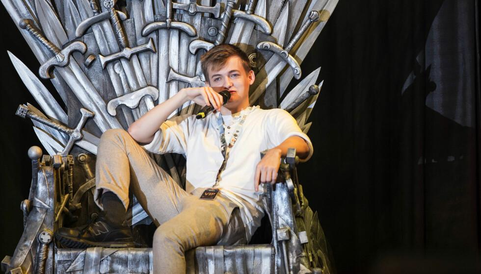 FERDIG SOM SKUESPILLER: Etter «Game of Thrones», sluttet Jack Gleeson som skuespiller foran kamera. Foto: NTB Scanpix