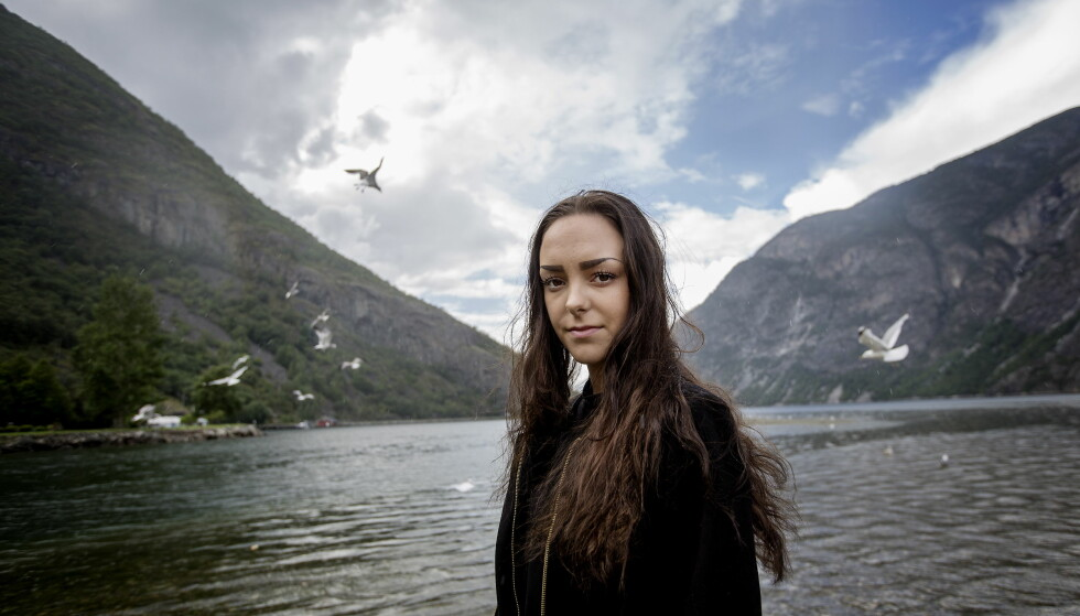 VANT PRIS: Andrea Voll Voldum fikk Jenteprisen for 2016 for sin rettslige kamp. Foto: Anita Arntzen / Dagbladet