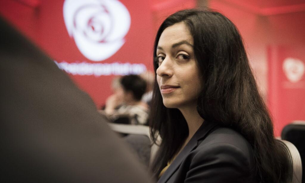 LOVENDE TAKTER: Hadia Tajik har ledet Arbeiderpartiets arbeid med nytt partiprogram. Forslaget om endring av AAP er et spennende tiltak. Foto: Lars Eivind Bones / Dagbladet