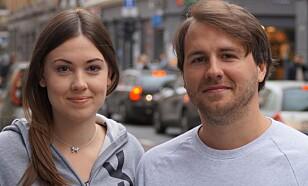 Nicole Marie Versland og Thomas Meier Strømme, medarbeidere i Jussbuss.