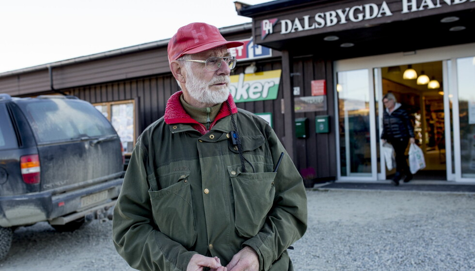 - TRIST: Reidar Mylius hørte Johaug-nyheten på vei vei hjem fra jakt i Dalsbygda torsdag ettermiddag. - Dette går sterkt innpå meg. Det er en skandale av dimensjoner, som Johaug ikke har noe som helst skyld i, mener han. Foto: Sveinung U. Ystad, Dagbladet