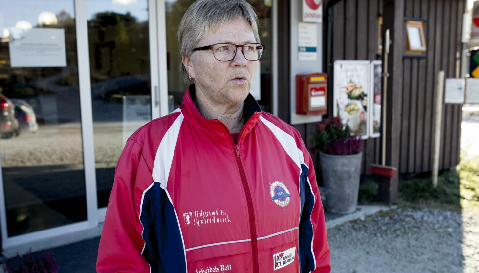 - FULL STØTTE: Elin Krog fotografert foran butikken i Dalsbygda. Foto: Sveinung U. Ystad, Dagbladet.