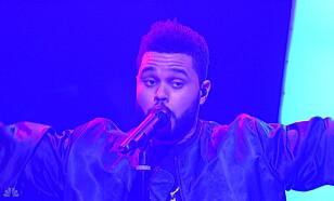 HET POTET: The Weeknd. Foto: NTB Scanpix