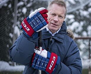 BAK HØGMO: Tidligere sjef for hockeylandslaget, Roy Johansen. Foto: Øistein Norum Monsen / Dagbladet