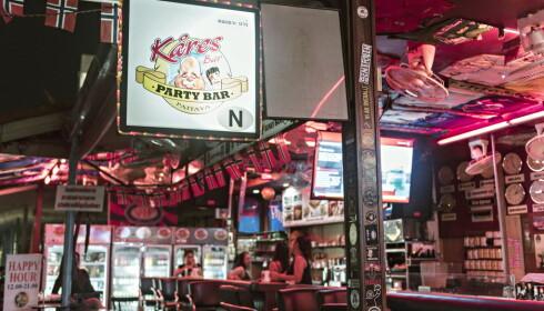 INSTITUSJON: Kåres Partybar har eksistert i over ti år, og er nærmest å regne som en institusjon for nordmenn i Pattaya. Arkivoto: Ralf Lofstad / Dagbladet