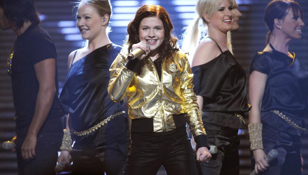 <strong>MELODIFESTIVALEN:</strong> Amy har deltatt i åtte talentkonkurranser, blant annet Super Troupers og Småstjärnorna, samt Melodifestivalen. Syv av disse konkurransene har hun vunnet. Foto: NTB Scanpix