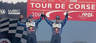 Ogier sikret VM-tittelen i rally
