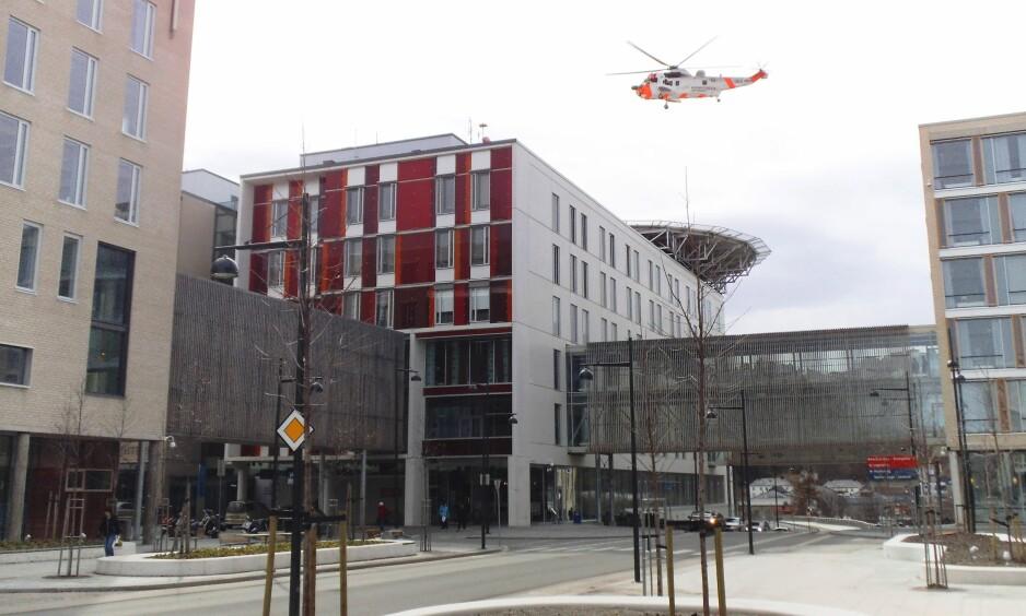 I TRONDHEIM: St. Olavs hospital. Foto: Ezzex / Wikimedia Commons