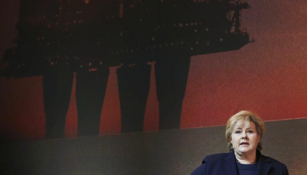 På kanten: Din regjerings handlinger er fullstendig på kant med den vitenskapelige konsensusen som Parisavtalen bygger på, skriver innleggsforfatteren til statsministeren. Foto: Terje Pedersen / NTB scanpix .