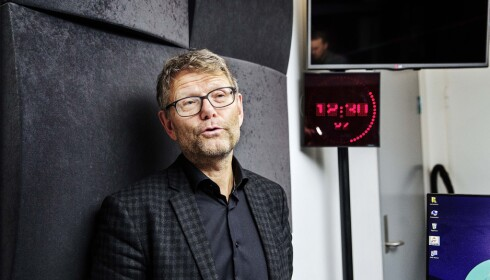 - REALISTISK: Nyhetssjef Stein Bjøntegård i NRK, sier det ikke er overraskende at 90 prosent av Dagsrevyen-seerne er over 40 år.  Foto: Nina Hansen / Dagbladet