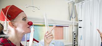 Sykehusklovnene er ikke skremt av skremme-klovner