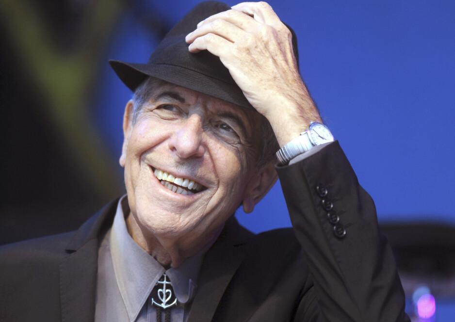 NYTT ALBUM: Leonard Cohen er ute med et nytt album, mørkt, vakkert og elegant som alltid. Foto: Scanpix/NTB