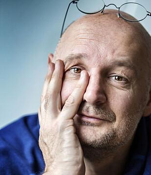 MANUSFORFATTER: Erlend Loe er en av tre manusforfattere bak «Kampen for tilværelsen». Foto: Emelie Asplund / TT / NTB Scanpix
