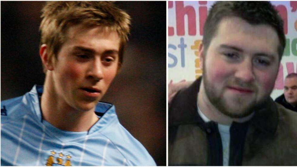 DA OG NÅ: Michael Johnson var et av engelsk fotballs store talenter som tenåring. Etter flere år med psykiske plager har Johnson nå tilsynelatende gitt opp karrieren. Foto: NTB Scanpix / Twitter