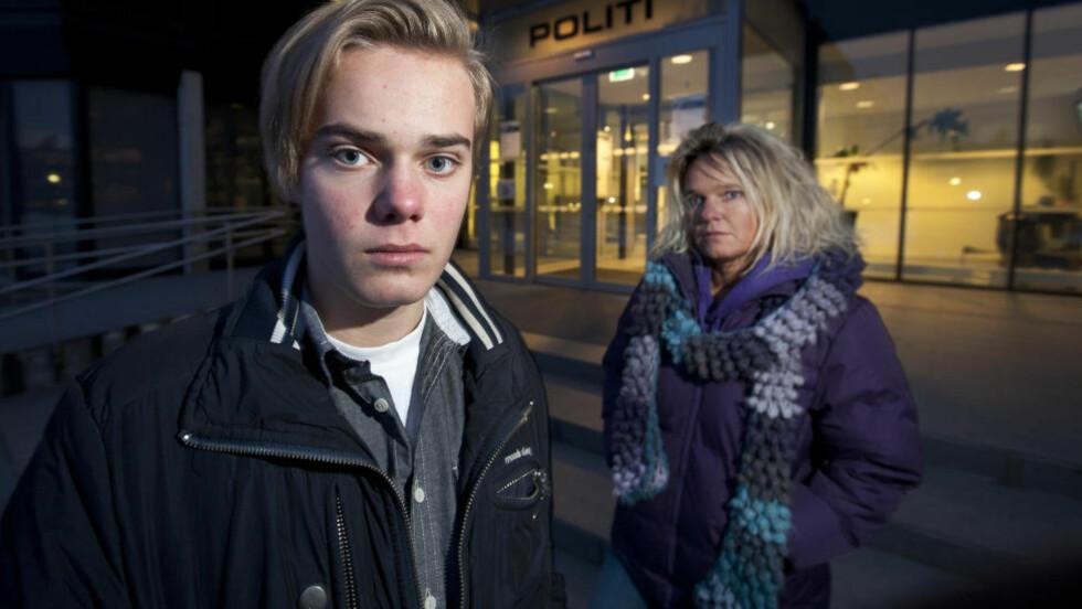 RANET: Jakob Hardeberg Svensen ble ranet med pistol da han satt i bilen til sin mor. Nå vil han lage film om opplevelsen. Foto: Henning Lillegård/Dagbladet.