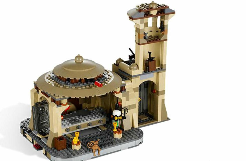 JABBA JABBA HEY: Er dette en nøyaktig kopi av en moské? Foto: Lego