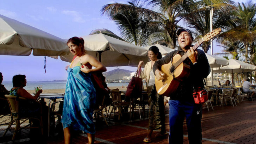 GRAN CANARIA:   Las Palmas er en storby med kunst, kultur og en lang strandpromenade. Foto: JOHN TERJE PEDERSEN