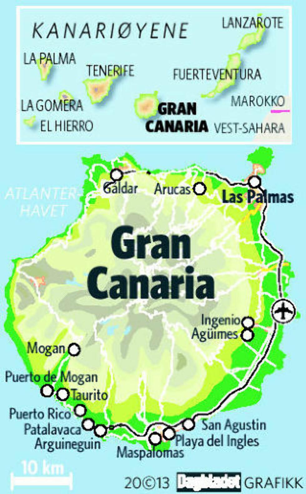 Vil ha nordmenn vekk fra Gran Canarias strender
