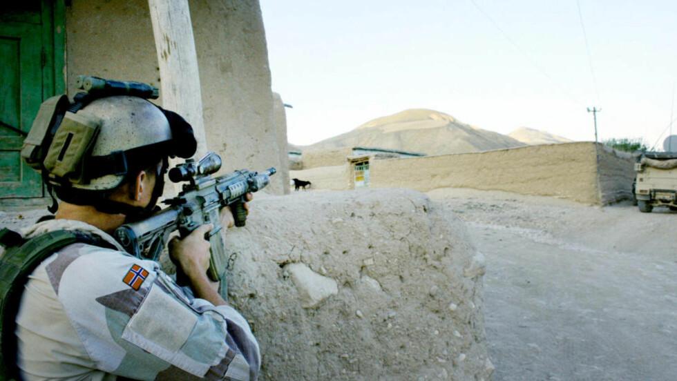 VIRKELIGHETEN: Dette er det norske soldater har jobbet mest med de siste årene. Fra Meymaneh i Afghanistan. Foto: PRT Meymaneh / Scanpix
