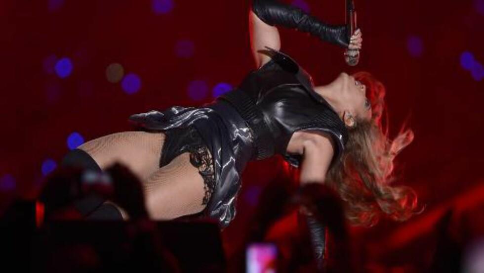 PENSJONERTE MADONNA: Beyonce pensjonerte i natt Madonna, ifølge Piers Morgan. Foto: Tannen Maury / EPA / NTB SCANPIX