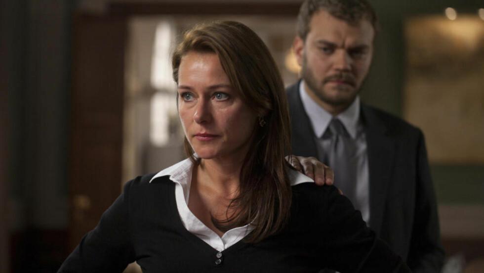 KLAR FOR NRK: Tredje sesong av den populære, danske tv-serien «Borgen» blir vist på NRK fra slutten av februar. Foto: DR/NRK
