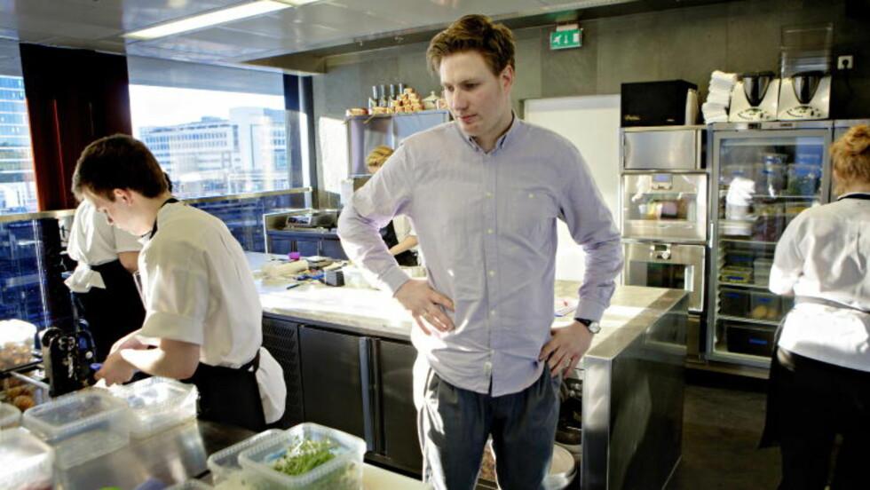GÅR KNALLHARDT UT: Kjøkkensjef ved Maaemo i Oslo, Esben Holmboe Bang. Foto: Lars Eivind Bones / Dagbladet.