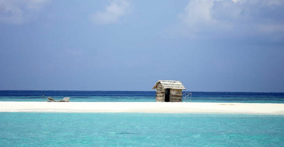 ØVERST PÅ ØNSKELISTA: 22 prosent har Maldivene i Det indiske hav som romantisk ønskemål.   Foto: THOMAS RASMUS SKAUG