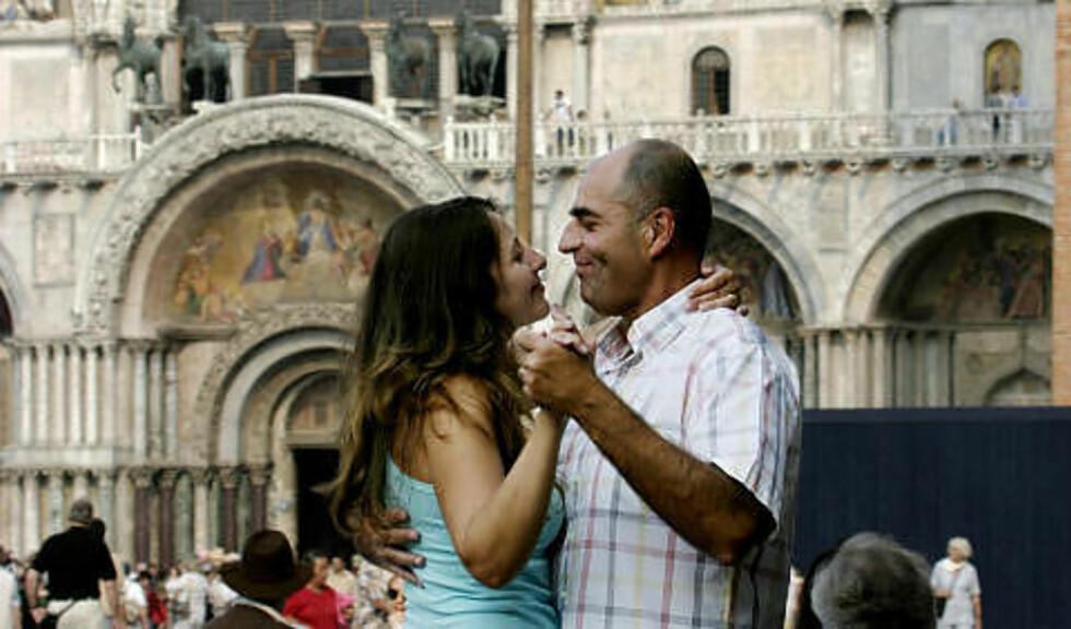 VENEZIA:  Italia kommer også høyt på romantikklista. Foto: GEIR BØLSTAD