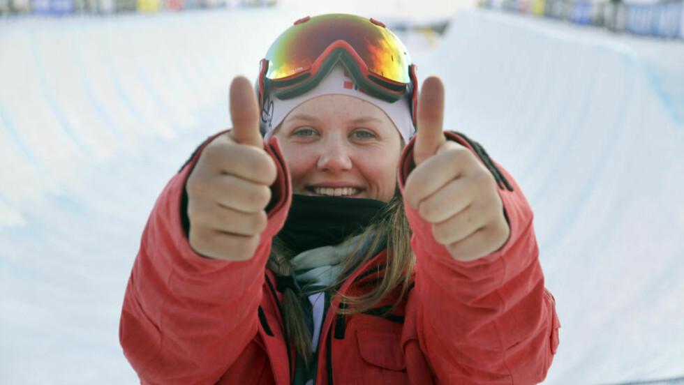 BEGEISTRET: X games-vinner Tiril Sjåstad Christiansen. Foto: Norges Skiforbund / NTB scanpix