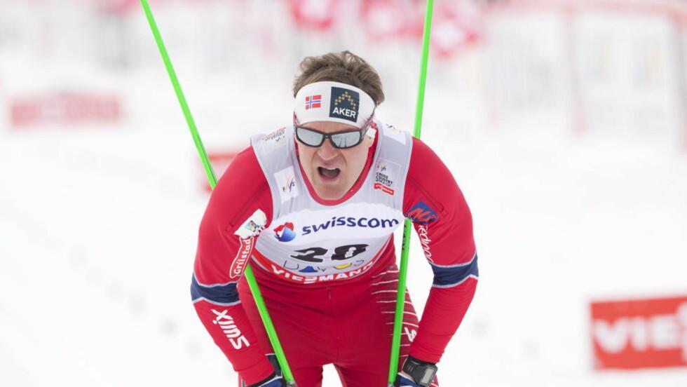 TIL VM:Øystein Pettersen ble disket i sprinten i Davos lørdag. Nå er han tatt med i troppen til VM. Foto: Terje Bendiksby / NTB scanpix