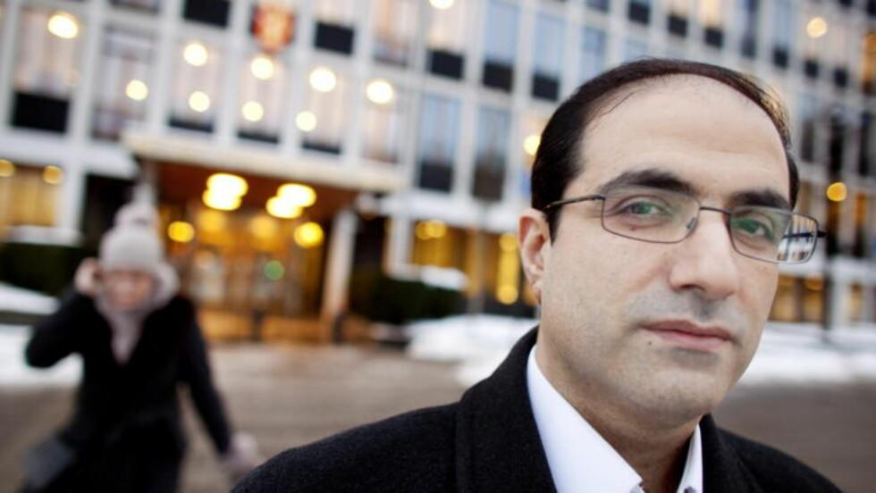 HOPPET AV I 2009: Den tidligere konsulen ved den Iranske ambassaden i Oslo, Mohammed Heydari sa i desember 2009 opp sin stilling. Han fikk senere innvilget asyl i Norge. Foto: Espen Røst / Dagbladet