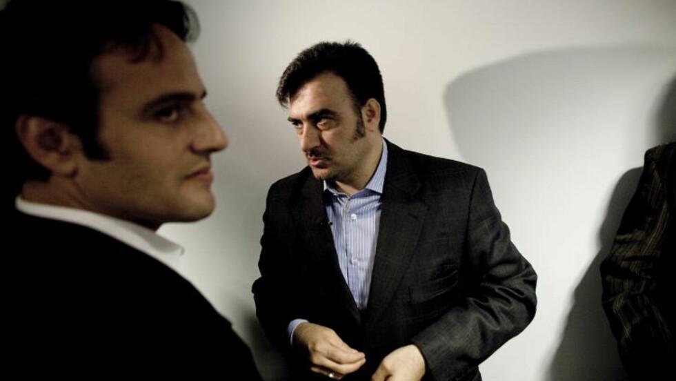 HOPPET AV I 2010: Diplomaten Farzad Farhangian ved den iranske ambassaden i Brüssel, hoppet av i 2010 og søkte politisk asyl i Norge. Han sa at han følte seg truet på livet og var bekymret for sikkerheten til dem som slutter seg til den iranske opposisjonen. Foto: Bjørn Langsem/DAGBLADET.