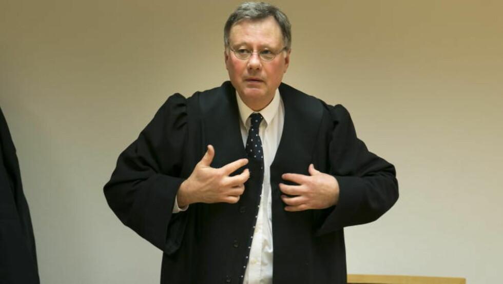 BESKYLDT FOR LØGN: Politiadvokat Knut Skavang er aktor i straffesaken mot Klomsæt Foto: Heiko Junge / NTB scanpix