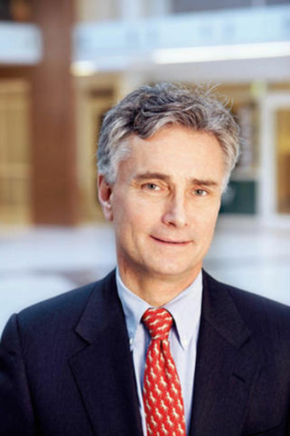 GIR TIL HØYRE: Petter Neslein er daglig leder i Pecunia AS som har gitt 500 000 kroner til Høyres valgfond i år. Neslein er også medlem i Norske Selskab.