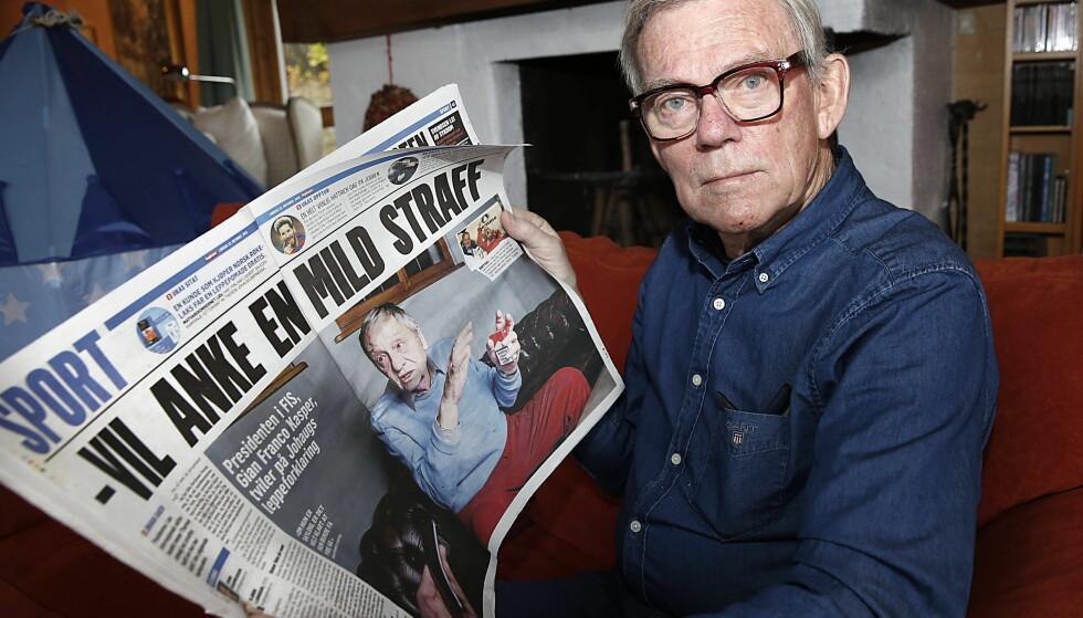 KRITISK: Professor Paul Lereim har arbeidet i en årrekke med antidoping. Nå mener han at Johaug-saken har tatt fullstendig av. Og at Dagblad-oppslaget med FIS-presidentens uttalelser 22. oktober er det største overtrampet. Foto: Jacques Hvistendahl / Dagbladet