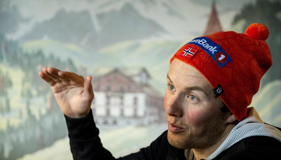 GÅR FOR JEVN STIGNING: Emil Iversen har ett klart mål for karrieren sin.  Foto: Bjørn Langsem / Dagbladet
