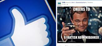 Sosiale medier-dissing mellom bankene etter at DNB la gebyrer på minibankuttak