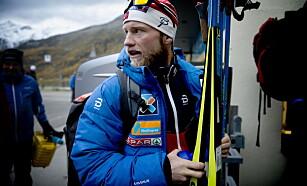 FORTSATT PÅ FISCHER: Martin Johnsrud Sundby fortsetter samarbeidet med Fischer Foto: Bjørn Langsem / Dagbladet