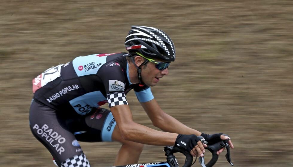 TATT: Alberto Gallego leverte en positiv dopingprøve tre dager etter at han ble sykkelproff for spanske Caja Rural-Seguros. Foto: EPA/JOSE COELHO