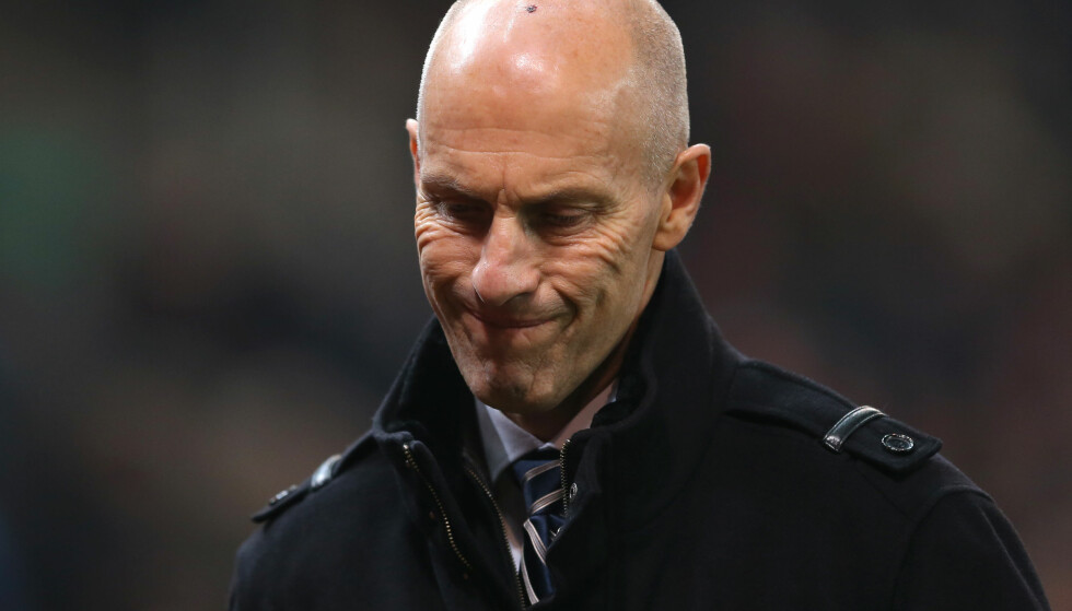 PRESSET: Tidligere Stabæk-trener Bob Bradley i Swansea. Foto: NTB Scanpix/Simon Bellis/Sportimage via PA Images