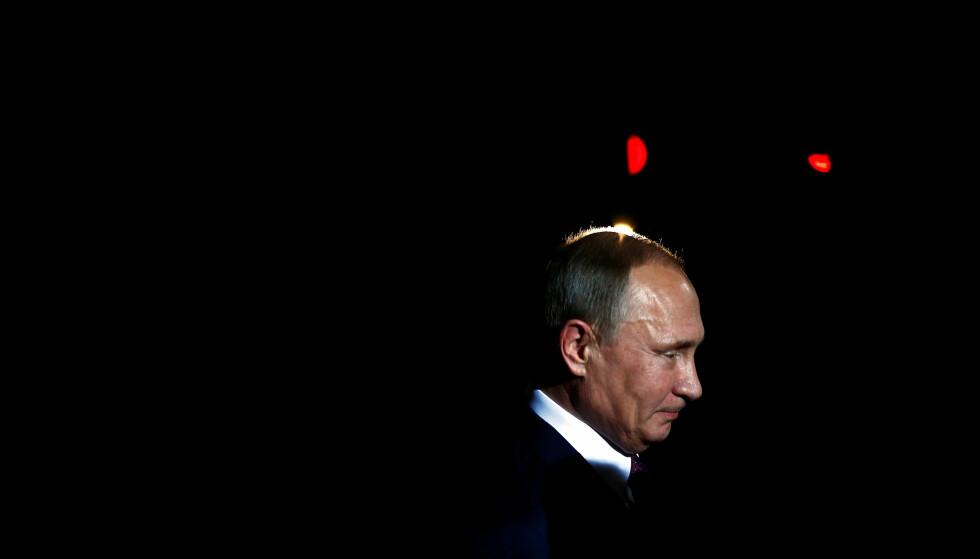 MOTSANKSJONER: Russlands liste over nordmenn som ikke er ønsket i landet, kom som et motsvar på Norges sanksjonsliste. Foto: Hannibal Hanschke / Reuters / NTB Scanpix
