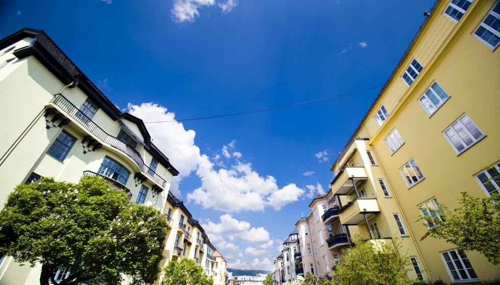 PRISFALL: Prisene på brukte Obos-tilknyttede boliger i Oslo falt med 1,2 prosent i mars, sammenlignet med februar. Illustrasjonsfoto: NTB Scanpix