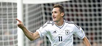 Tidenes toppscorer i fotball-VM legger opp. Nå vil Klose bli trener