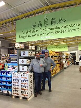 FØRST UT: Den første butikken for overskuddsmat, Holdbart, åpnet i Vestby høsten 2015. Nå kan du velge og vrake blant butikker i samme kategori. Foto: Tine Faltin