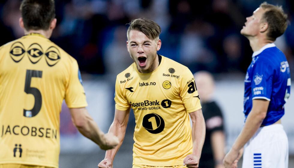 TRENGER OPPTUR: Bodø/Glimt og talentet Patrick Berg møter RBK søndag. Foto: Jon Olav Nesvold / NTB scanpix