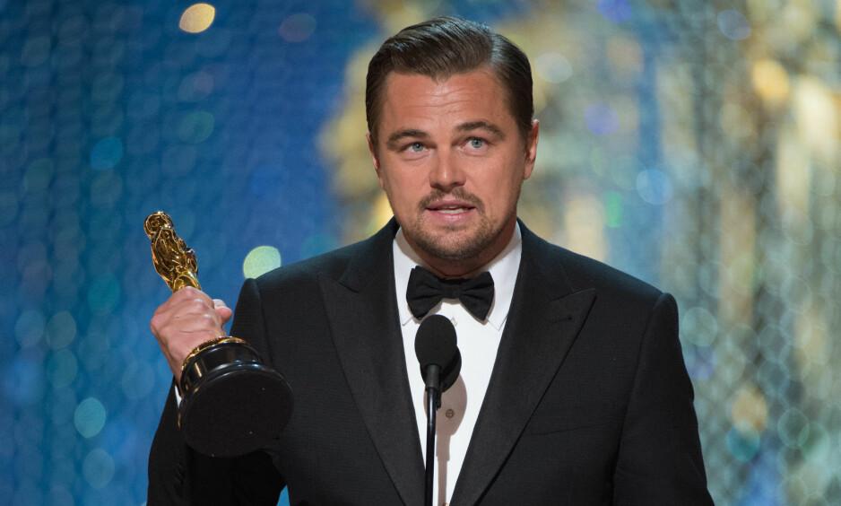 <strong>KLIMAAKTIVIST:</strong> Leonardo DiCaprio. Foto: NTB Scanpix