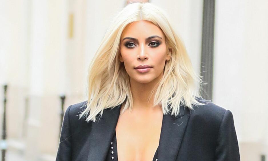 BLE RANET: Kim Kardashian ble ranet i Paris. Nå skal flere mistenkte være arrestert. Foto: NTB scanpix