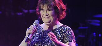 Susan Boyle (55) avslører at sykdommen truer framtida